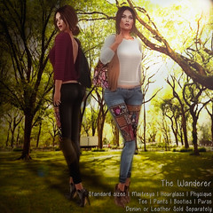 TheWanderer - updated (.:TheBeautifulOnes:. Babs Draconia) Tags: belleza belted bohemian boho bohofabric casual classicavatars clothing colors denim fashion fittedmesh flickr freya hippie hourglass hud ibiza inspiration isis jacket japanese jeans jumpsuit leather longsleeve maitreya marketplace mesh meshbodies meshclothes meshoutfit oriental outfit pads physique secondlife shibori shopping sl slink standardsizes strapless stuffsytle style suede summer tbo thebeautifulones tmp tonic top tyedye update urban venus virtual wanderer woman womenstuff zinnia
