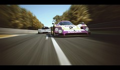 Group C (Thomas_982) Tags: gt5 gt6 cars auto le mans sarthe racing motorsport france mercedes benz jaguar xjr9 ps3 gran turismo uk british motion prototype sauber c9