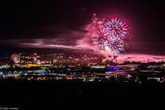 Feuerwerk Kreuznacher Jahrmarkt 2016 (fadenfloh) Tags: lichter abschluss feuerwerk bad kreuznach jahrmakrt firework night nacht stadt city lights ngc