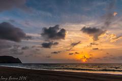 "SUNRISE IN ""CARBONERAS"" (TONY-BUENO - Barcelona) Tags: canon eos 70d sunrise amanecer tokina 1116 f28 tokina1116f28 carboneras almeria espaa cabodegata mar sea beach playa sun sol nubes"