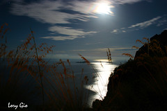 IMG_0244 (.lory.) Tags: mare sea luna moon lorygio loredanagiordano luce light panorama landscape seascape canon canon400drebelxti cielo sky positano costieraamalfitana