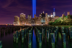 Tribute In Lights 2016 Edition (wowography.com) Tags: 2016 brooklyn brooklynbridgepark d610 dumbo newyorkcity nikon rokinon14mm september september11 timessquare tributeinlights 5215775 nypd fdny papd 911 downtownnyc groundzero 343 gothamist