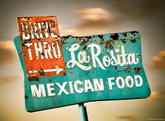La Rosita Drive-Thru Mexican Food (Shakes The Clown) Tags: 500px california canon5dmarkii cuisine drivein drivethru flickr font food illumination lights marcshur mexicanfood neon old redlands restaurant retro signgeeks signlanguage signage signs smugmug socal southerncalifornia typography vintage marcshurphotographycom