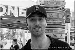 Brian (James0806) Tags: washington districtofcolumbia unitedstates us newyorkmetscaps caps blackandwhite mtpleasantfarmersmarket mtpleasantdc