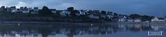 20160804-47 St Nic Coucher de soleil Heure Bleue Pano 9734 (laurent lhermet) Tags: coucherdesoleil pentrez sel1650 saintnic sonya6000 stnic bluehour heurebleue panorama panoramique sonyilce6000 sunset