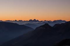 Julian Alps at sunrise (carlo.goweather) Tags: rifugio marinelli udine friuliveneziagiulia friuli sunrise alba colore colours alps alpi natura montagne montagna