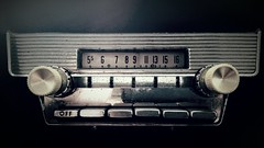 1959 6-Tube Pushbutton AM Radio (Michel Curi) Tags: throwbackthursday radio ford thunderbird 1959 music tbt am tube pushbutton cars automobile accessories vehicles dashboard nationalradioday electronics