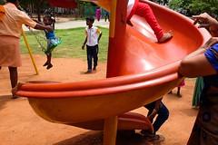 (sreeranj) Tags: tamilnadu pondicherry streetphotography streetphotographer playground children india layers