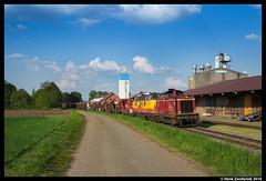 Bentheimer Eisenbahn D21, Veldhausen 12-05-2016 (Henk Zwoferink) Tags: neuenhaus niedersachsen duitsland bentheimer eisenbahn henk zwoferink d21 d20 d22 facns db