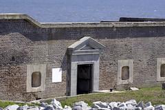 Fort Sumter Main Entrance (dcnelson1898) Tags: charleston southcarolina nps nationalparkservice southeast atlanticocean coast travel vacation holiday civilwar history militaryhistory fortsumter