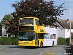 September Song (Cymru Coastliner) Tags: arrivabuseswales dafdb250 alexander 3990 s243jua bus rhyl northwales arrivalondon dla dla43