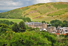 Edinburgh scenery, Scotland. (Infinity & Beyond Photography) Tags: palace salisbury crag park arthurs seat edinburgh scotland scottish scenery holyrood holyroodhouse