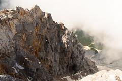 Rock (sillie_R) Tags: austria cloud germany landscape mountain rock snow zugspitze ehrwald tirol