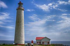 Cap Desrosiers Lighthouse (Danny VB) Tags: lighthouse cap desrosiers forillon park gaspésie québec canada canon 7d sigma 30mm14 dannyboy summer