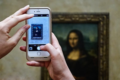 Mona Lisa 2.0 (Cornelli2010) Tags: art france frankreich louvre monalisa paris sonyrx100