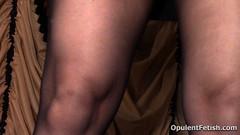 6 (opulentfetish) Tags: pantyhose highheels longhair blackhair goddesscheyenne pov rearend ass crotchless dungeon zipper breasts skirt posing bra legs legshow closeup atlantadominatrix opulentfetish