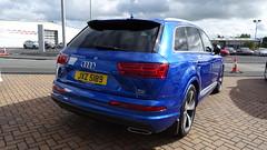 2016 Audi Q7 S Line Tdi Quattro (>Tiarnn 21<) Tags: audi a7 q7 quattro rare bluw blue jxz5189
