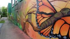 Ruelle Beaconsfield-Hingston (Sylvain Mnard) Tags: can canada beaconsfield geo:lat=4546640679 geo:lon=7361946246 hingston 2016 t septembre geotagged montral notredamedegrce qubec guillaumelapointe murale ruelle ndg