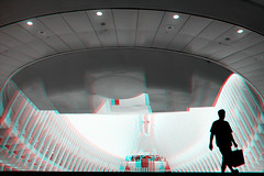 New York, New York (DDDavid Hazan) Tags: newyork ny nyc newyorkcity manhattan downtown oculus 911 september11 anniversary memorial terminal architecture anaglyph 3d bw blackandwhite bwanaglyph 3danglyph 3dstereophotography redcyan redcyan3d stereophotography stereo3d