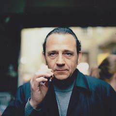 London Street Portrait (Alvaro Arregui) Tags: portrait man london 60s fuji smoke streetportrait oldman cigar hasselblad fujifilm 50s bricklane tabaco puro tabacco polaroidfilm polaroid100 hasselblad503cx polaorid hasselbladpolaroidback fujifp100cfp100c