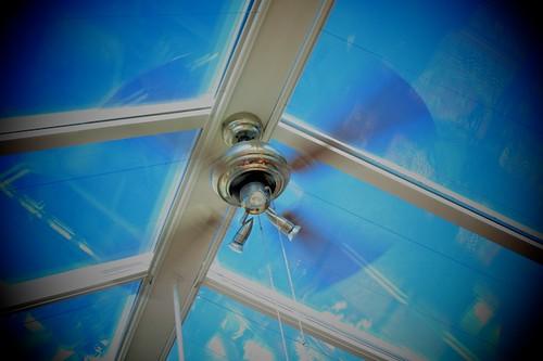 roof sky fan