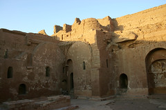 Anba Hadra East interior (howiemj) Tags: west st site ancient ruins desert egypt bank monastery walls sands simeons aswan coptic hadra hatra anba