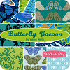 Butterfly Cocoon Fat Quarter Bundle Valori Wells for Free Spirit Fabrics -- Friday's Giveaway!! (maureencracknell) Tags: giveaway cocoon freespirit fabricstash valoriwells fatquartershop