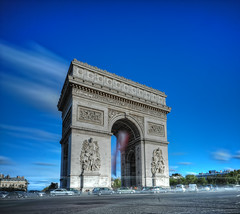 Arc (AO-photos) Tags: paris pose de long exposure arc triomphe hdr longue