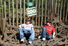 Boys Chillin (Marlisa Osborne) Tags: zoo knoxville jacob brandon
