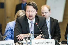 Andreas Scheuer in attendance at the Day 1 Ministers' Roundtable