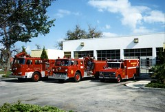OFD Fires Station 6 (West Florida Fire Photography) Tags: ofd firestationno1 firestationno6 seagravefireapparatus sutphenfireapparatus orlandofiredept fordemergencyvehicles