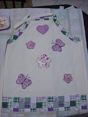 Avental (Pintura em tecido. Panos de prato.) Tags: avental