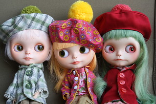 I made hats and Duffel Coats !