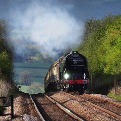 Over the hump (geoffspages) Tags: geotagged shropshire railway steam tornado stokesay 60163 geo:lat=5243083536877495 geo:lon=28341814285278133