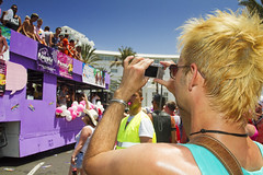 Maspalomas Gay Pride 2012 (Alex Bramwell) Tags: camera grancanaria fun spain parade photograph gaypride float spectator maspalomas