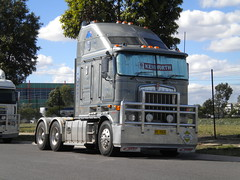 Kenworth K108 fat cab (KW BOY) Tags: tractor truck prime big highway cab transport over australian melbourne stretch semi lorry rig hauling express trailer coe mover trucking kw 2012 kenworth haulage aerodyne k108
