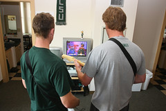 FTmale043008076 (Cleveland State University) Tags: male men spring student athletics guitar interior web dorm traditional stock group tennis housing ft residence pm brochure rockband undergraduate caucasian mpa viewbook