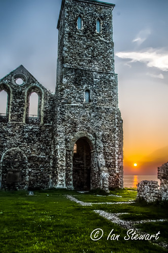 Reculver Sunset