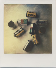 #filmforever (daveotuttle) Tags: film 35mm polaroid slr680 filmonfilm theimpossibleproject px680