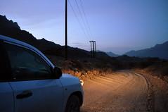 Twilight 4x4 (charlottehbest) Tags: mountains twilight scenery 4x4 graded oman pimpmobile hadash albatinah charlottehbest