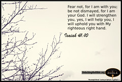 Fear Not: I Am With You | Isaiah 41:10 (UnlockingTheBible) Tags: desktop wallpaper art beautiful hand god fear jesus free right images christian download backgrounds bible strength isaiah inspirational scriptures verses righteous