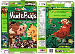 2002 Kellogg's Mud & Bugs (bolio88) Tags: 2002 king mud box cereal lion disney bugs kelloggs