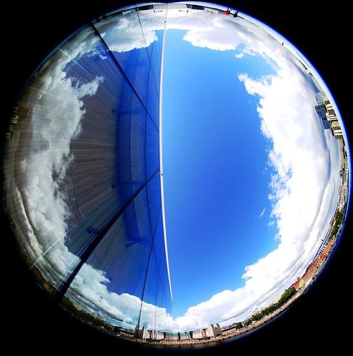 Perspective (©skarson) Tags: blue sky oslo norway eos norge mark iii 14 fisheye l 5d usm ef oslooperahouse canoneos5dmarkiii 815mm canonef815mm14lusm