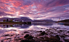 Sunrise over Ben Nevis (images through a lens) Tags: uk water sailboat sunrise scotland europe unitedkingdom britain bennevis loch fortwilliam lochlinnhe scottishhighlands corpach