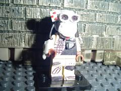 lego predator (XxDeadmanzZ) Tags: show cinema motion film silver movie star moving silent lego picture cine screen liam talking flick feature screenplay videotape celluloid photoplay cinematics talkie cinematograph xxdeadmanzz
