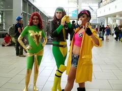 Jubilee and x men ladies comic con (GianeMay) Tags: men phoenix comics movie book costume colorado comic cosplay jubilee x denver xmen rogue marvel con