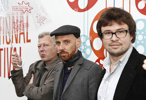 Erwin Houtenbrink, Ewen Bremner and Javier Porta Fouz at the International Short Film Competition Jury Photocall