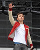 Nathan Sykes of The Wanted The final ever performance of record breaking boyband Westlife at Croke Park Dublin, Ireland