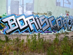 BoriScor (graffinspector) Tags: street art graffiti boris piece burner tagging scor