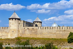Ivangorod fortress (k.kulikov) Tags: old travel blue summer sky white building green tower castle history beautiful grass stone wall museum architecture clouds river ancient ruins europe estonia european view russia fort citadel background border landmark baltic medieval knight historical russian bastion fortress ivangorod narva kkulikov